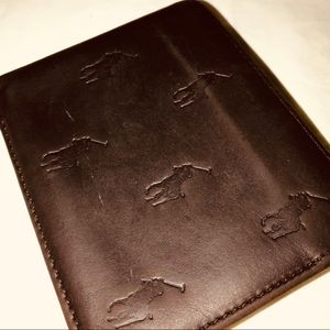 Polo by Ralph Lauren Mens Leather Wallet